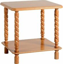 Pine Less than 60cm Traditional Coffee Tables with Shelves