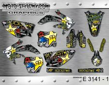 Honda CRf 450R 2005 up to 2008 graphics decals kit  Moto-StyleMX