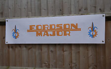 FORDSON Major Tractor Shed Banner vintage Agricultural equipment show sign