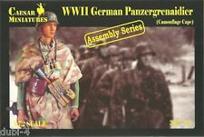 Caesar 7717 WWII German Panzergrenaidier Camouflage Cape Assembly Series 1:72
