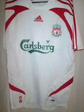 Liverpool 2007-2008 Away Football Shirt Size Small mans top adult ynwa/15904