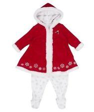 BELLE ROBE DE  NOEL + pantalon imprimé flocon de neige - 0/3 mois - NEUVE