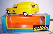 OLD SOLIDO RENAULT 4 L 4L POSTES POSTE PTT réf 42a BOX
