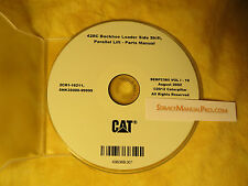 SEBP2385 New CAT Caterpillar 428C Backhoe Loader Side Shift Parts Manual Book CD