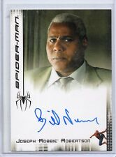 SPIDER-MAN Movie (Maguire) Autograph Trading Card - BILL NUNN as ROBERTSON