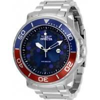 Invicta Men's Watch Pro Diver Quartz Blue Dial Stainless Steel Bracelet 30567