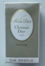 Christian dior miss dior parfum 7,5 ml 0.25 fl oz VINTAGE SEALED BOX