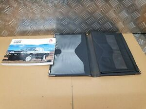 Mitsubishi L200 k74 owners manual book wallet folder case 1998 1999 2000 2001