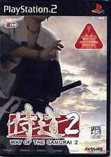 Used PS2 WAY OF THE SAMURAI 2 Japan Import (Free Shipping)