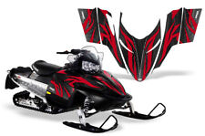 Snowmobile Graphics kit Full Decal for Polaris Shift All Years Zooted Red Black