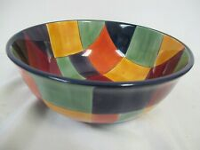 Caracas Multi Color Large Serving Bowl Tabletops Unlimited 10""