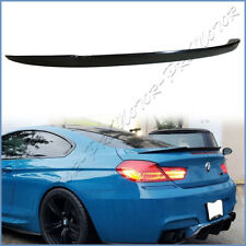 Fit 12-18 F13 Coupe 640i 650d M6 Real Carbon Fiber V Type Trunk Spoiler Tail Lip