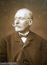 PHOTO ANCIENNE SALON 1883 PEINTRE ARMAND-DUMARESQ 13,5x9,6