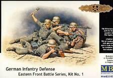 MB Masterbox German Infantry Defense Deutsche Infanterie Defensive 1:35 Bausatz