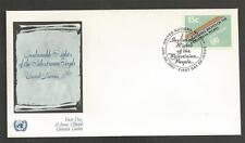 UNITED NATIONS -1981 Inalienable Rights of the Palestinian People - F.D. COVER.