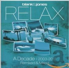 Blank & Jones Relax - A Decade 2003-2013 Remixed & Mixed 2CDs Neu OVP