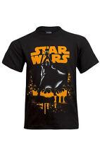 T-shirts, débardeurs et chemises noirs pour garçon de 2 à 16 ans en 100% coton, 14 ans