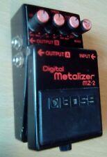 Boss MZ-2 Digital Metalizer Stereo distorsión mij vintage 1988 hecho en Japón