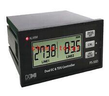 HM Digital PS-50D Dual EC TDS Controller EC TDS online Monitor Meter