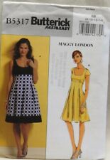 Butterick 5317 Misses' summer dress pattern size 8, 10, 12, 14, uncut