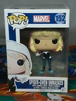 Marvel Spider-Gwen Unmasked #152 Pop Vinyl Bobble-Head Figure Funko Aus Seller