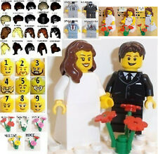 Lego Minifig Bride x 1 and Groom x 1 **Multiple Choices Available See Pictures**