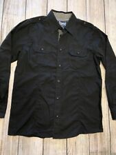 Sovereign Code Black Boys Long Sleeve Button Front Shirt XL EXTRA LARGE Western
