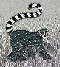 Metal Enamel Pin Badge Brooch Lemur Animal Madagascar Jungle