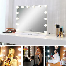 """Hollywood Makeup Lighted Vanity Mirror Lights Bulb Dimmer Tabletop or Wall 23""""L"""