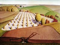 Iowa in the Fall : Grant Wood :  Archival Quality Art Print Suitable for Framing