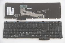 NOR DK Norsk Dansk Tastatur Danish Keyboard for Dell Latitude E5540 no pointer