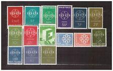 s32375)  EUROPA CEPT MNH** 1959 Complete 15v