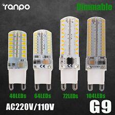 Regulable G9 LED Maíz Bombilla 6W 8W 9W 10W 2835 3014 SMD Luz Replace Halógeno