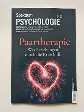 Spektrum PSYCHOLOGIE 04/20 PAARTHERAPIE  ungelesen, 1A