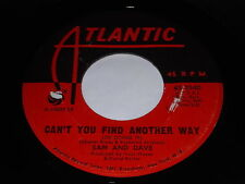 Sam And Dave: Can't You Find Another Way / Still Is The Night 45 - Soul, Funk