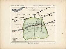 Antique Map-NETHERLANDS-TOWN PLAN-BLESKENSGRAAF-ZUID HOLLAND-Kuyper-1865