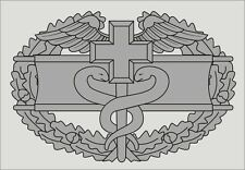 COMBAT MEDICAL BADGE STICKER - OUTSIDE APPLICATION