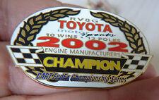 PIN'S F1 FORMULA ONE USA CART FEDEX SERIES 2002 CHAMPION TOYOTA EGF MFS