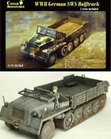 Caesar WW2 German sWS Halftrack Halbkette 1:72 Modell-Bausatz Schwerer Schlepper