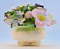 Vintage Royal Adderley Floral Bone China Made in England Porcelain Flowers