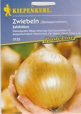 """Gemüsezwiebeln """" EXHIBITION"""" Riesenzwiebel bis 1,5 KG Zwiebeln Samen ca.100 Pfl."""