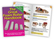 Foam Roller Book - Foamroller - Handbook - Workout guide - Chart - Massage