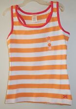 ** NewW/Tags ** Gymboree Bright and Beachy Orange/White/Pink Stripe Top Sz 8