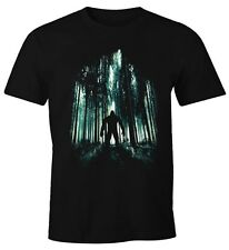 Señores t-shirt Mystery monstruo en el bosque fun-shirt moonworks ®