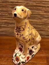 Royal Crown Derby  Labrador -1st gold PERFECT