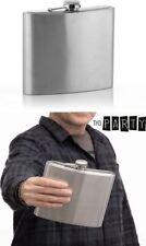 Petaca de metal gigante 1 Litro, regalo ideal, fiesta, celebración, 17x17x4 cm