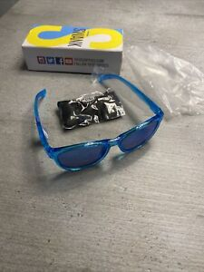 Tifosi Optics Swank Crystal Sky Blue / Smoke Bright Blue Sunglasses