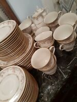 58 Piece Set Noritake China Gallery Pattern Excellent!!