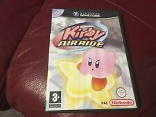 KIRBY AIR RIDE. NINTENDO GAMECUBE. BOXED WITH MANUAL & UNSCRATCHED VIP POINTS