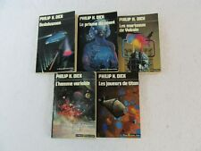 Lot of 5 PHILIP K. DICK Dedalusman L'Homme Variable Le Masque French 1970s